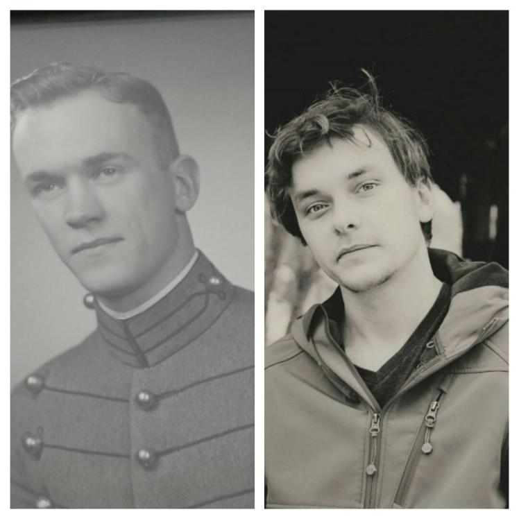 My brother and my grandfather.