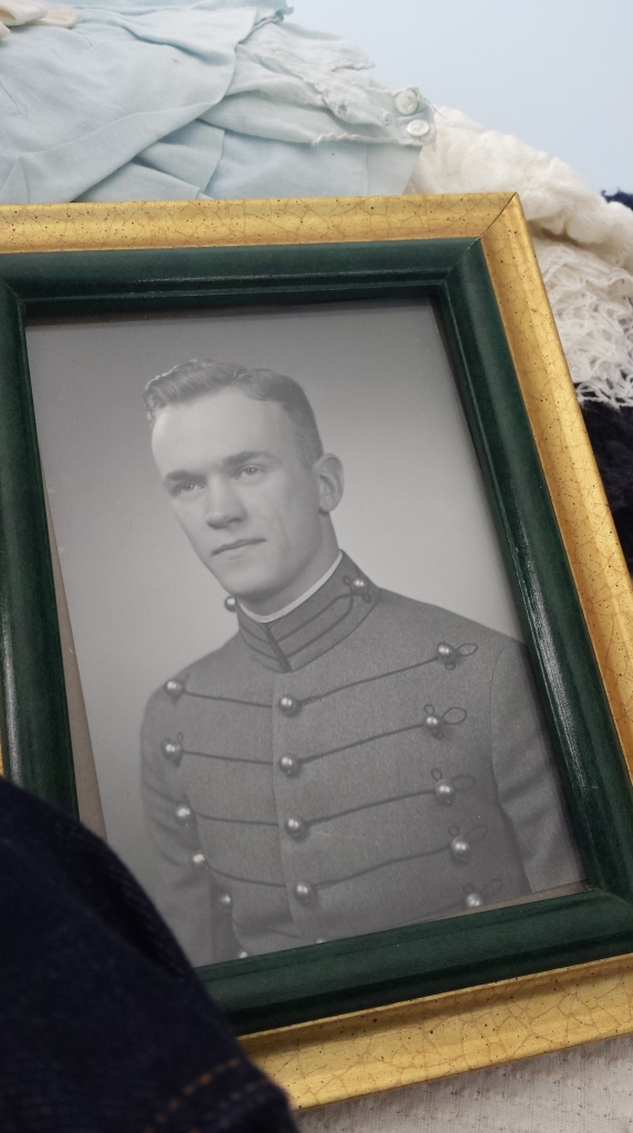 My grandfather as a young man - I believe this is a photo of him from his graduation from Westpoint.